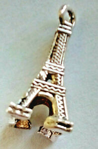 20 EIFFEL TOWER CHARMS Tibetan Style Antique silver Colour Sent From The UK
