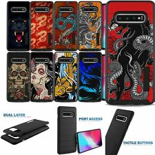 Case for [Samsung Galaxy S10 5G], Unique Two Piece Slim Case with Design