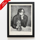 Pablo Picasso - The Glass of Beer, Original Hand Signed Print with COA