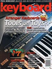 2007 Keyboard Magazine Compares Yamaha PSR -3000 S500 Tyros, Roland E-80 60 G-70