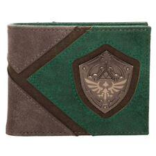 Official Legend of Zelda Metal Shield Badge Bi-Fold Wallet - Boxed