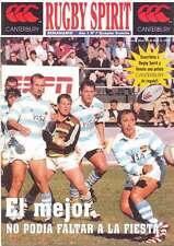 RUGBY SPIRIT 24 Apr 1999 ARGENTINA RUGBY MAGAZINE ARGENTINA v AUSTRALIA