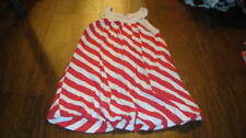 BOUTIQUE SPLENDID 6X/7 RED WHITE STRIPED DRESS GIRLS