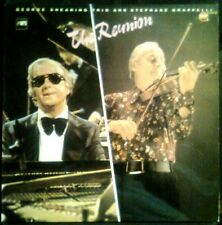 GEORGE SHEARING TRIO & Stephane Grappelli - Reunion - SPAIN LP Stop Jazz 1983