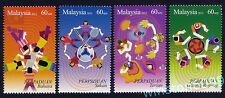 2012 Malaysia 2nd Series Malaysian Unity 4v Stamps Mint Not Hinged