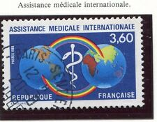TIMBRE FRANCE OBLITERE N° 2535 ASSISTANCE MEDICALE / Photo non contractuelle