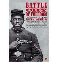 Battle Cry of Freedom: The Civil War Era (Penguin history), Good Condition Book,