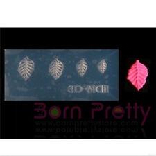 3D Nagel Schablonen Acryl Blatt Mold DIY Form Nail Art Maniküre Dekoration