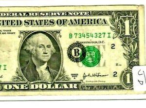 "AWESOME!!! $1 ""MAJOR SEAL SHIFT ERROR"" (NEW YORK) ""SHIFT ERROR"" (2003) RARE!!!!"