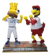 MLB St. Louis Cardinals Kansas City Royals - Fredbird Slugger Rivalry Bobblehead