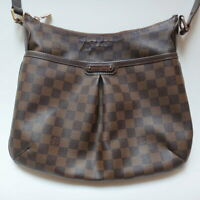 LOUIS VUITTON LV Shoulder Bag N42251 Bloomsbury PM Damier Canvas Ebene