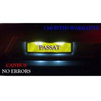 *VW Passat 3B B5 3C B6 License Number Plate LED Light Bulbs - Xenon White 36