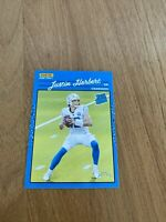 Justin Herbert RC 2020 Panini Instant Rated Rookie Retro Only 2044 Made! Read
