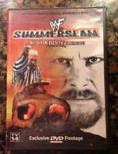 WWF - Summerslam '99 (DVD, 2000) WWE 1999 SUMMERSLAM Rare Oops-Authentic US