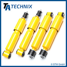 4 PERFORMANCE SHOCK ABSORBERS GAS PRESSURE, Front + REAR - VW T4 Bus,
