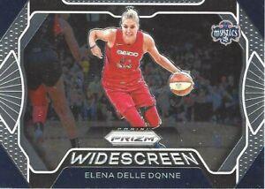 2020 WNBA PANINI PRIZM WIDESCREEN ELENA DELLE DONNE INSERT CARD #1 MYSTICS
