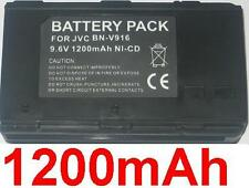 Batterie 1200mAh type BN-V6 BN-V7 BN-V8 BN-V916 Pour JVC