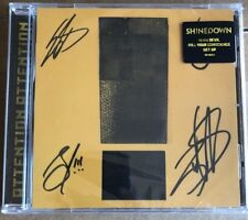 SHINEDOWN Attention Attention CD With Autographed Insert New Sealed