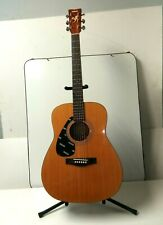 Yamaha FG 412L Left-Handed Acoustic Guitar Just Set Up With New Strings