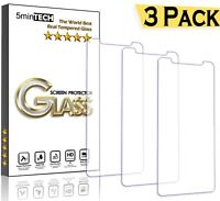 [3 Pack] for iPhone XS Real Tempered Glass Screen Protector