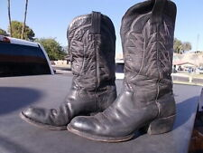 Distressed Used Sanders ? Western Cowboy Boots Men's sz. 8 E