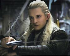 Orlando Bloom Signed 10X8 Photo The Hobbit: The Desolation of Smaug COA (5187)