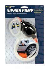 Siphon Pump & 6' Clear Hose for Auto-Car-Truck-Home-Aquarium Gas-Liquid