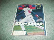 1992 Sports Illustrated Deion Sanders Atlanta Braves Baseball Cover 4/27
