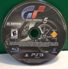 Gran Turismo 5 -- XL Edition (Sony PlayStation 3, 2012) DISC ONLY 13196