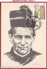 ITALIA MAXIMUM MAXI CARD ALLIEVI COLLEGIO ASTORI DON BOSCO 1989 MOGLIANO TV C62