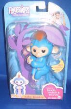 Wowwee Authentic Fingerlings Boris Blue Baby Monkey, New