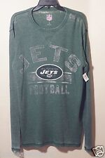 NFL - New York Jets - G-III Free Safety Long Sleeve Green Thermal Shirt - Size L