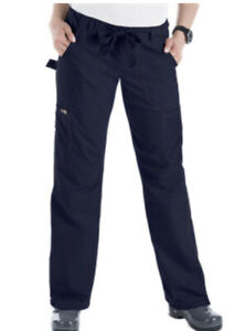 Koi Lindsey Women's Scrub Pants M Petite Navy Blue 701P EUC