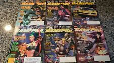 2001 GamePro Magazine Full Lot of 12 - Complete set, Vintage and Rare!