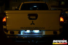 MITSUBISHI L200 - SMD/LED number plate lights - white ANIMAL BARBARIAN 4th Gen