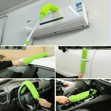 Long Handle Easy Reach Radiator Cleaning Bristle Brush Dust Duster Cleaner