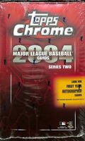 2004 Topps Chrome Series 2 Baseball Sealed Hobby Box