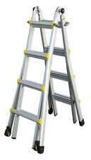 INDALEX Pro Series Aluminium Telescopic Ladder 19ft 1.6m - 5.4m