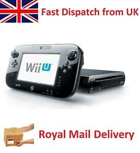 Nintendo Wii U Premium Pack 32GB Black Handheld System WiiU Gaming Console