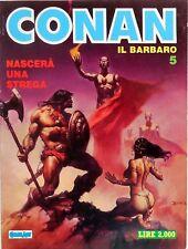 COMIC ART MARVEL CONAN LA SPADA SELVAGGIA N.5 1987
