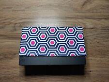 Switch Navy Hexagon Dock Sock - Cotton Dock Cover - Nintendo Screen Protector
