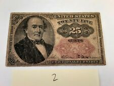 25 cent - 5th Issue - Fractional Currency