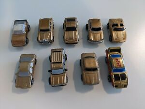 Original Galoob Micro Machines Gold Cars Lot