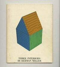 c. 1961 George Nelson + Charles Eames 3 HERMAN MILLER INTERIORS 32-pg Promo Bklt