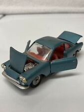 Politoys-M No. 502 Fiat-Siata 1500 Blue Made in Italy 1/43 Scale