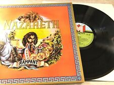 Nazareth Rampant Vinyl LP OIS 1975 UK Mountain TOPS 106