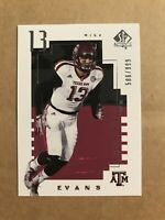 2014 MIKE EVANS SP AUTHENTIC FUTURE WATCH /999 BUCS ROOKIE RC
