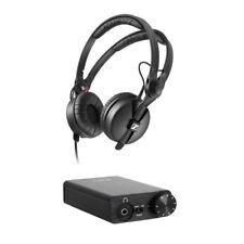 Sennheiser HD 25 PLUS Monitor Headphones + FiiO E10K USB DAC Headphone Amplifier