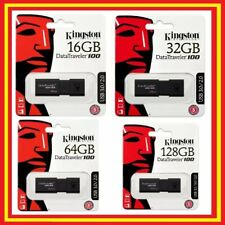 Pendrive 3.0 Kingston DataTraveler DT100  USB 3.0 pendrive 16GB 32GB 64GB 128GB