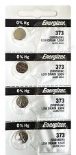 Energizer 373 Silver Oxide 4 Batteries (SR916SW / SR916W)